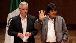 El expresidente Evo Morales reiteró sus ganas de volver a Bolivia, pero dijo que al irse, salvó al país de una guerra civil.
