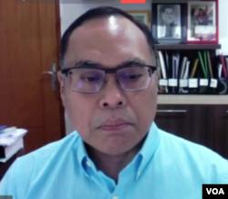 Guru Besar Hukum Internasional UI, Hikmahanto Juwana (screenshot).