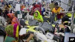 Bangladesh garment factory -AP