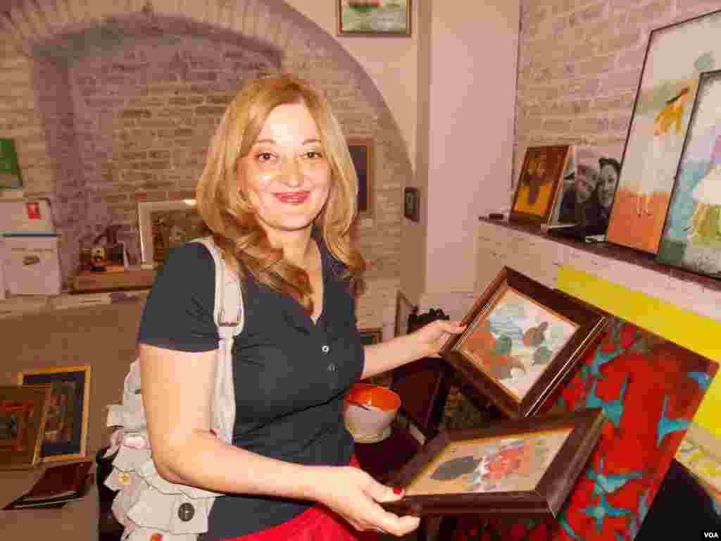 В галерее тбилисских художников