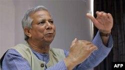 Ông Mohammad Yunus, người sáng lập ngân hàng tiểu tín dụng Grameen
