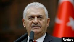 PM Turki Binali Yildirim mengecam rencana Kurdi Irak untuk menyelenggarakan referendum kemerdekaan (foto: dok).
