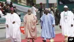 Tsoffin shugabannin Najeriya a bikin rantsar da shugaban Najeriya a Abuja