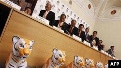 Thủ tướng Nga, ông Vladimir Putin, chủ trì cuộc họp thượng đỉnh của 13 quốc gia có số lượng hổ bị đe dọa trầm trọng