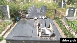 Uništen nadgrobni spomenih na pravoslavnom groblju u Lipljanu