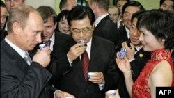 В.В. Путин в Китае (архивное фото)