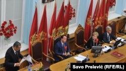 Montenegro - Constitutive session of The Parliament of Montenegro, Cetinje, 17Nov2016