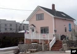 美国康州新伦敦市居民凯露的家 (2005年2月8日)
