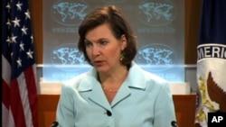 빅토리아 눌런드 미 국무부 대변인 (자료사진)