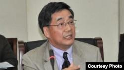 美国西东大学商学院副院长、国际管理系主任尹尊声(图片由尹尊声本人提供)