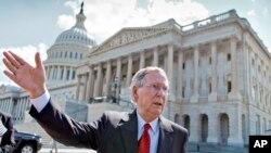Thượng nghị sĩ Mitch McConnell - lãnh đạo khối đa số ở Thượng viện.