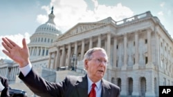 د امریکا د سنا په مجلس کې د جمهوري غوښتونکي گوند مشر سناتور میچ میکانل
