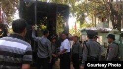 ဦးပက္ထရစ္ခြန္ဂ်ာလီကို တရားရံုးထုတ္စဥ္ (Photo-May Sabe Phyu)