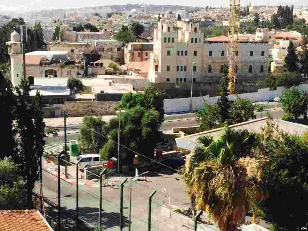چشم انداز شهر اورشلیم