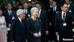 Împîratorê Japoniya Akihito û xanima wî Michiko