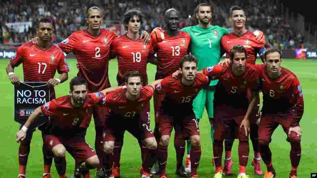 Grâce à leur succès lors de leur dernière rencontre face au Danemark (1-0), le Portugal s'est qualifié pour l'Euro 2016. Ils ont souffert face au Danemark, mais ont obtenu ce qu'ils souhaitaient : leur qualification pour l'Euro. La Portugal se trouve dans la groupe F avec les equipes suivantes : Islande, Autriche et Hongrie.