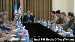 Irak Hava Kuvvetleri Komutanlığı'nı ziyaret eden Başbakan Haydar el Abadi