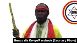 Ne Mwanda Nsemi, leader groupe mystico-politique Bundu dia Kongo RDC, 3 mars 2017. (Facebook Bundu dia Kongo)