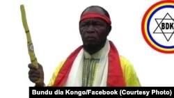 Ne Mwanda Nsemi, leader du groupe mystico-politique Bundu dia Kongo (BDK), RDC, 3 mars 2017. (Facebook Bundu dia Kongo)