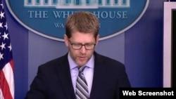 美国白宫发言人卡尼(白宫网页截图)