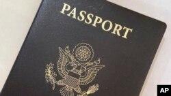 Un passeport américain, le 25 mai 2021.
