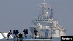 지난달 13일 필리핀 마닐라만에서 필리핀 해안경비대와 일본 해상자위대가 합동 해상 훈련을 실시했다. (자료사진)