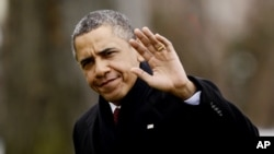 Predsednik Barak Obama po povratku sa Havaja