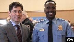 Somali-American Policeman