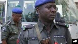 Jami'an Tsaro a Abuja.