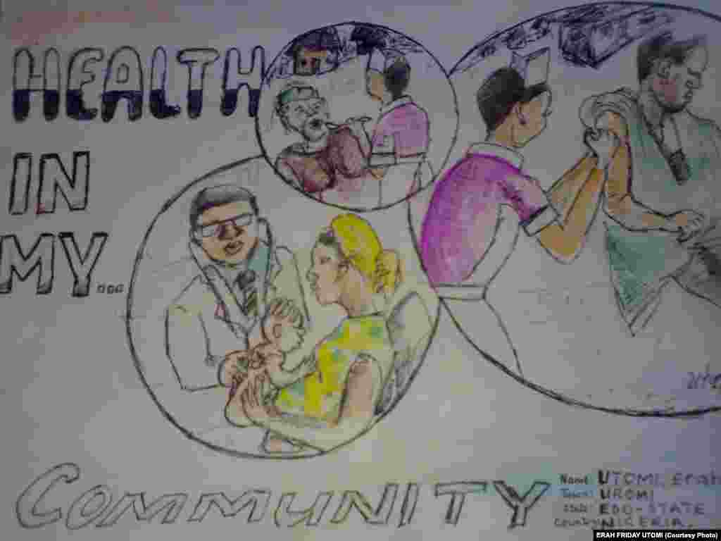 """Drawing for the """"Health in Your Community"""" Contest"""