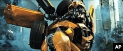 Bumblebee in TRANSFORMERS: DARK OF THE MOON, from Paramount Pictures.