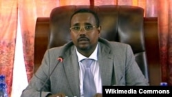 FILE - Abdi Illey, former president of Ethiopia's Somali region, is seen in an undated photo. Also known as Abdi Mohamoud Omar, he has overseen the Liyu police, a special force responsible for a range of abuses against Ethiopians, particularly in the Somali region, according to rights groups. Earlier this week, Abdi tendered his resignation.