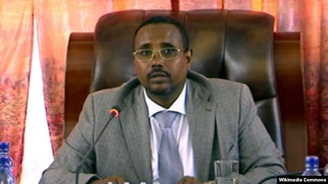 FILE - Abdi Illey, president of Ethiopia's Somali region, is seen in an undated photo. Also known as Abdi Mohamoud Omar, he oversees the Liyu police, a special force responsible for a range of abuses against Ethiopians, particularly in the Somali region, according to rights groups.