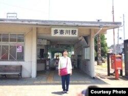 재일조선인 북송 사업에 의해 북한에 갔다가 55년만에 일본 고향으로 돌아온 여성.
