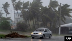 Tropska oluja Lora zahvatila je mesto Gvajama u Portoriku.
