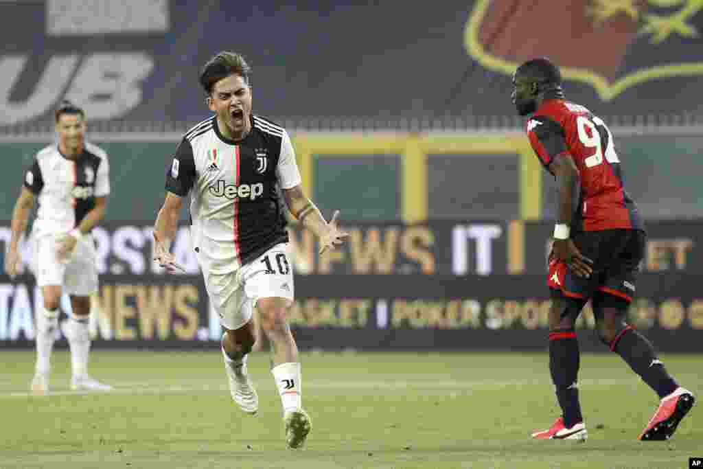 Paulo Dybala, ya Juventus, azwaki COVID-19 kasi abiki mpe azongeli ba entrainements.