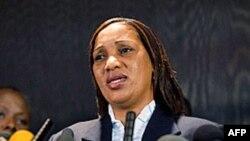 Cô Nafissatou Diallo, người cáo buộc ông Strauss-Kahn tội tấn công tình dục
