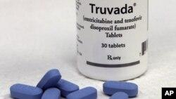 16일 미국 식품의약국이 승인한 에이즈 감염 예방약품 '트루바다'.