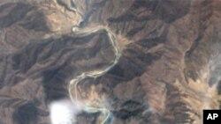 엠네스티 인터네셔널이 공개한 북한 요덕 수용소 위성사진