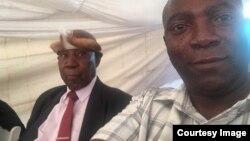 Umuyi uAbraham Nkiwane lendodana yakhe, uMicah Nkiwane. (Photo: Nkiwane Family)