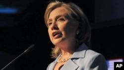 US Secretary of State Hillary Rodham Clinton (file photo)