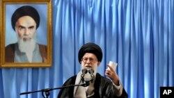 이란 최고지도자 아야톨라 알리 카메네이. (자료사진)