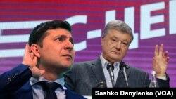 Poroshenko Zelenskiy