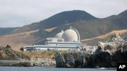 미국 서부 캘리포니아 해안에 있는 원자력 발전소