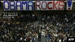 Prezident Obama Demokrat namizədlər üçün kampaniya aparır