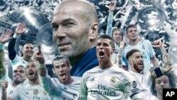 زیدان مهرۀ کلیدی قهرمانی ریال مادرید در لیگ قهرمانان اروپا