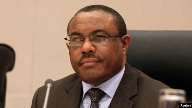 FILE - Ethiopian Prime Minister Hailemariam Desalegn.
