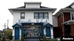 Hitsville U.S.A. dan Museum Motown, didirikan oleh eksekutif musik Berry Gordy Jr., di Detroit, Michigan 19 Oktober 2007. (Foto: dok).
