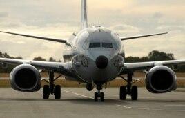 中国八次警告南中国海填岛上空美侦察机