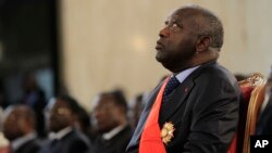 前科特迪瓦總統巴博。